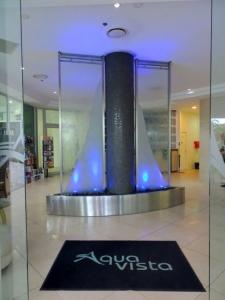 Aqua Vista Carved Glass