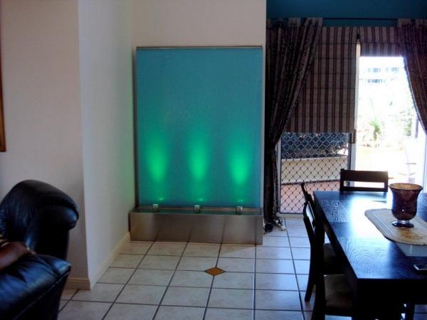Aquamarine Frameless Glass