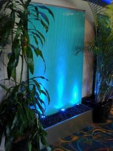 Aquamarine Glass Burleigh Heads Bowls Club