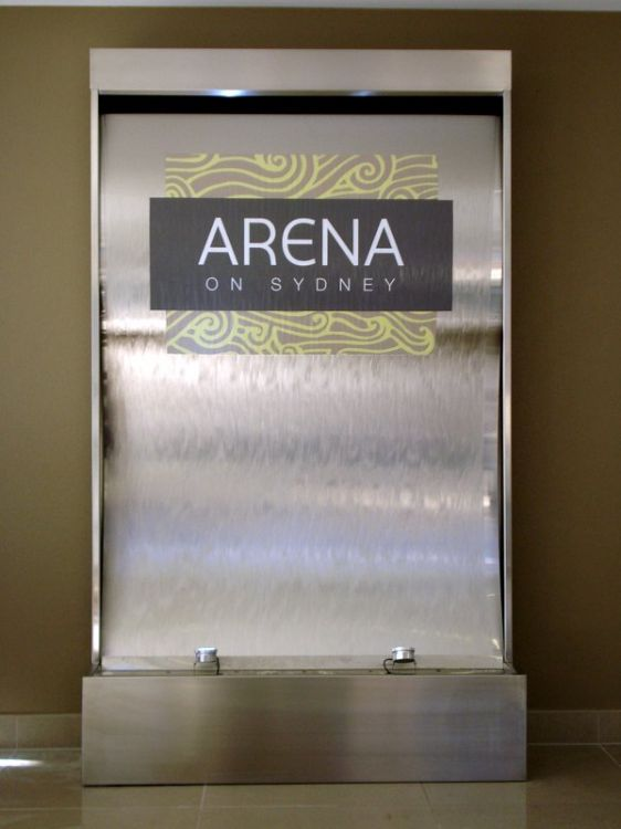 Arena on Sydney Stainless Steel