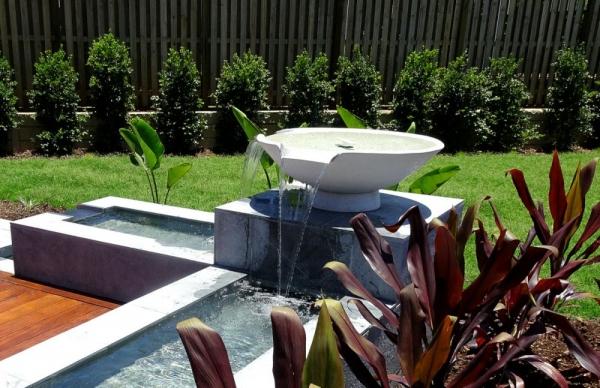 Bowls - White Zen with Spill Ways