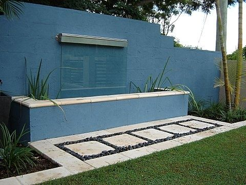 Cascading Water Feature Glass