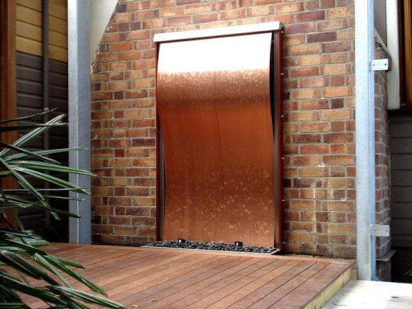 Copper Wave Framed 1