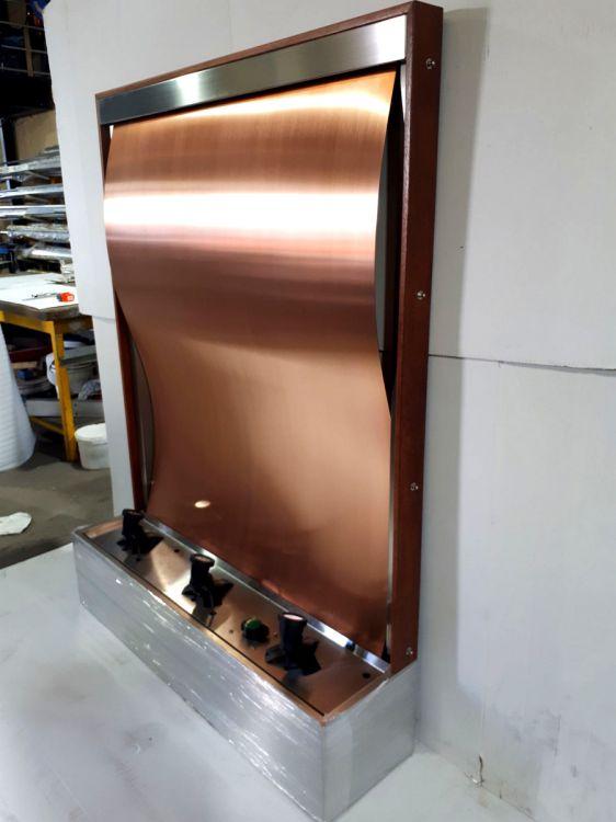 Copper Wave Framed 3