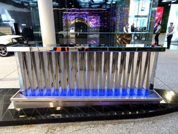 Emporium Hotel Mirrored Stainless Steel