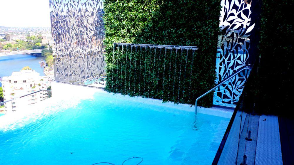 Emporium Hotel Pool Segmented Sheer Descent