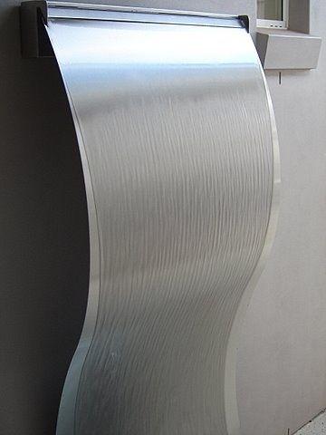 Frameless Stainless Steel Wave 2