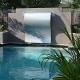 Frameless Stainless Steel Wave 4