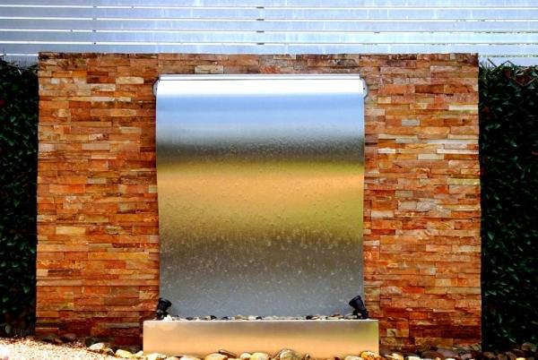 Frameless Stainless Steel Wave 8