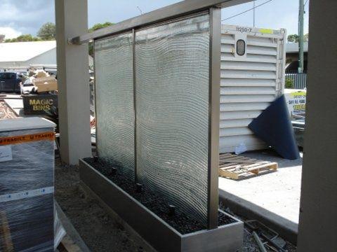 Palm Lake Care Slumped Glass