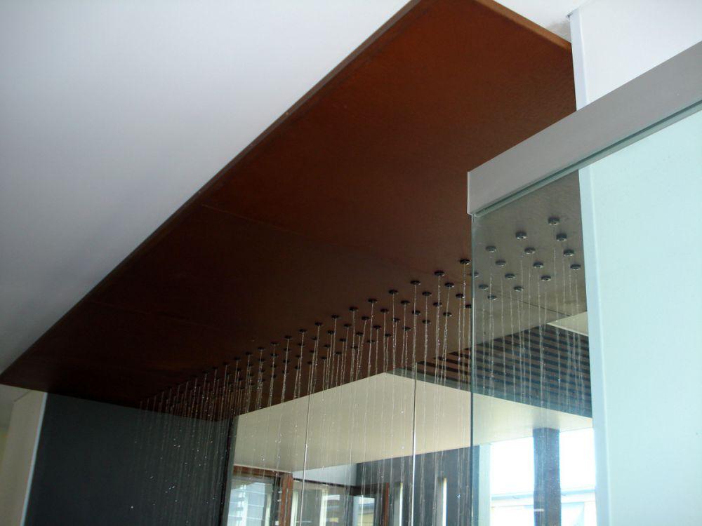 Rain Curtain Corten Steel