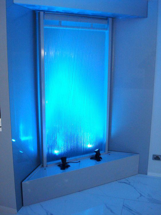 Semi Frameless Slumped Glass - Corner