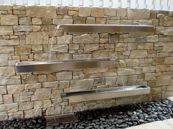 Spill Ways with Stone Wall