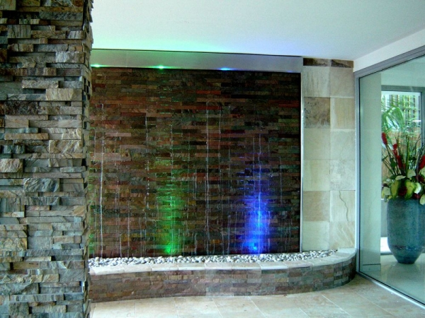 Stacked Stone Water Feature 3