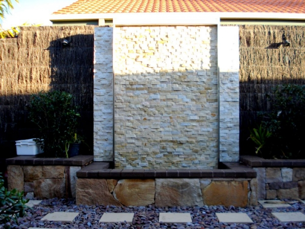 Stacked Stone Water Feature 4