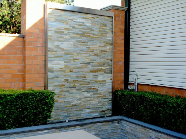Stacked Stone Water Feature No. 6
