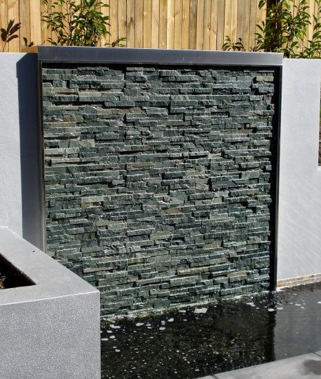Stacked Stone Water Feature No.12