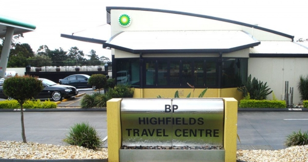 Twin Stainless Wave BP Travel Centre
