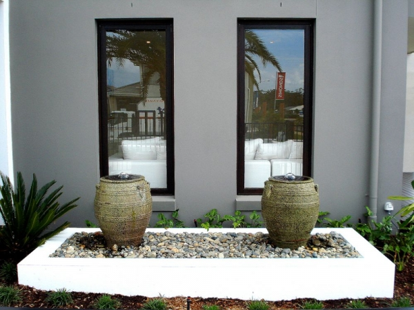 Urns Twin Water Feature