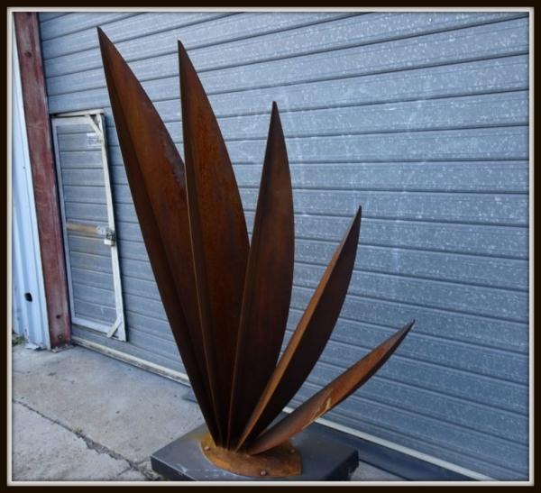 Blades Corten Sculpture