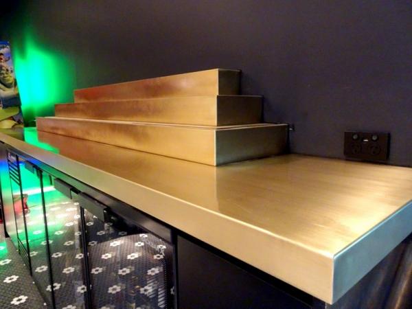 Brass Counter Top