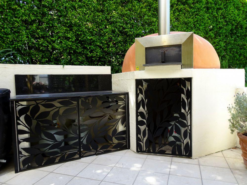 Decorative Door Panels Leaves