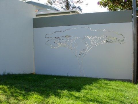 Decorative Panel African Tree