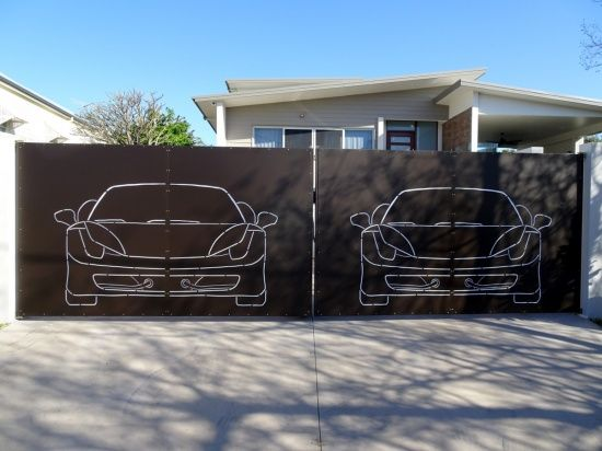 Decorative Panel Ferrari