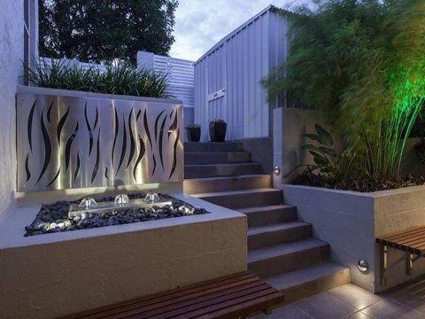 Decorative Panel Flames