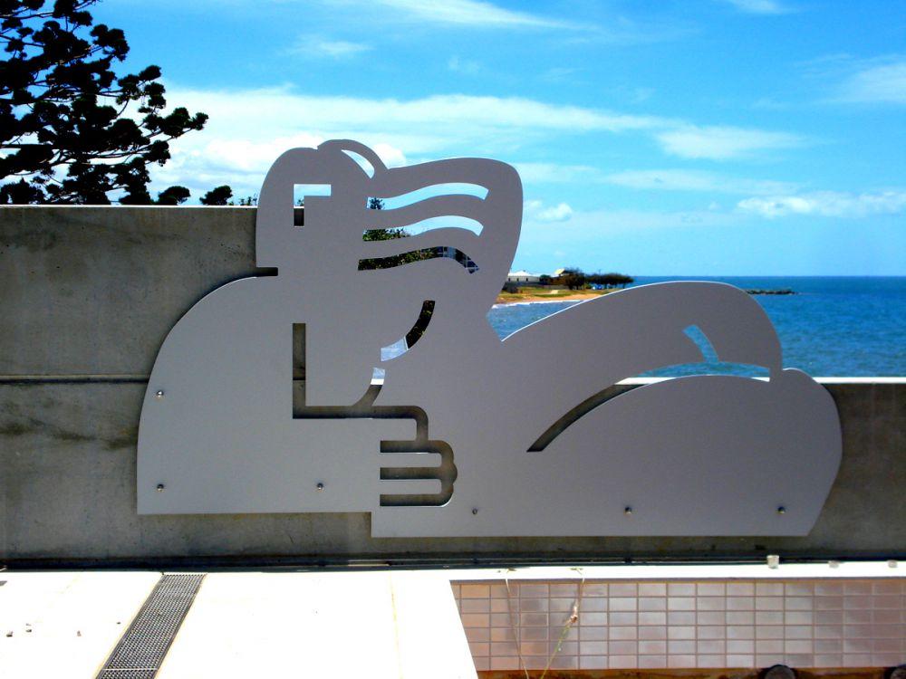 Decorative Panel Lady of Leisure