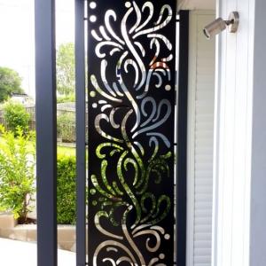 Decorative Panel Privacy Screen