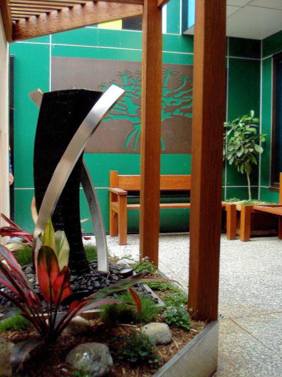 Decorative Panels Prince Charles Hospital