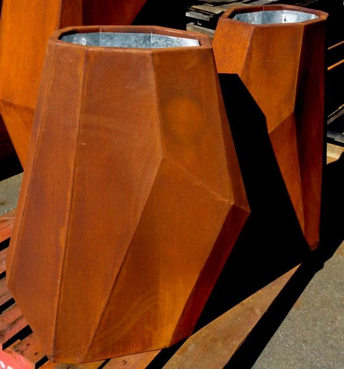 Fragments Corten Steel Planters