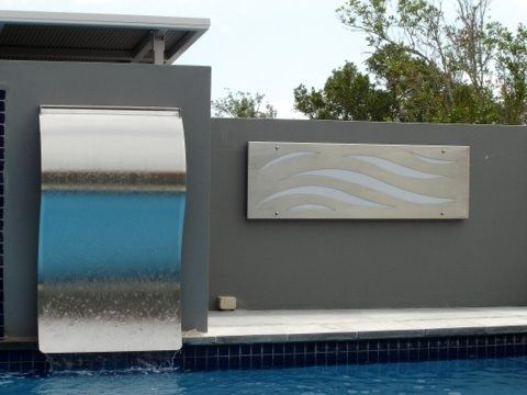 Stainless Steel Feature Panels