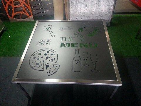 The Menu Table
