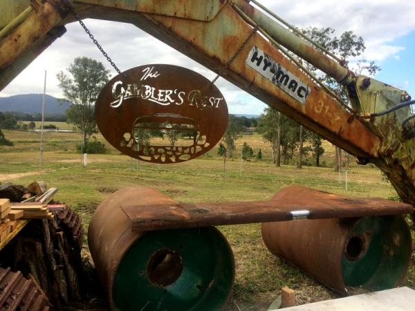 Gamblers Rest Signage