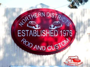 Northern Districts Rod and Custom Signage