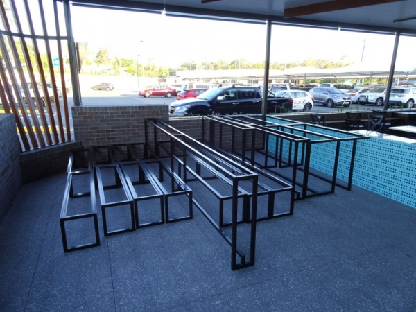 Steel Benches and Table Frames