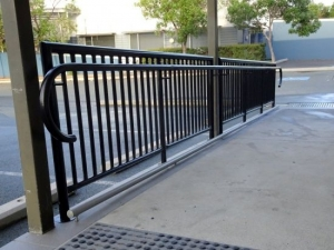 Steel Hand Rails Black
